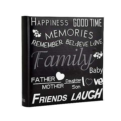 Famille, amis de voyage/Destinations de vacances/mémoire Photo/photo album avec Memo écriture Zone de texte et de décoration Motif Coupe 2004x 15,2cm/photos 10x 15cm par Arpan