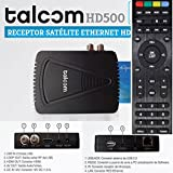 Talcom HD500 - Receptor Satélite Ethernet WIFI Integrado