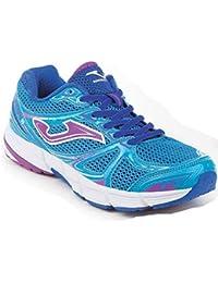 Joma C.KNITRO LADY 610 CORAL-MARINO - Zapatos polideportivas al aire libre para mujer, color coral, talla 40