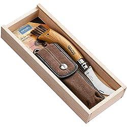 Opinel Pilzmesser Länge geöffnet, Braun, 20.0 cm, 254148