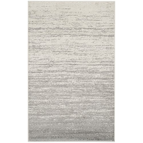 """Ivory/Silver, 2'6 x 4' : Safavieh Adirondack Collection ADR113B Ivory and Silver Modern Area Rug (2'6"""" x 4')"""