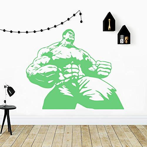 yaoxingfu Kreative The Avengers DieVinyl wasserdichte Wandkunst Aufkleber Wandtattoos Kunst Dekoration DIY Wohnkultur weiß 85x103 cm (Die Flash-wandtattoo)