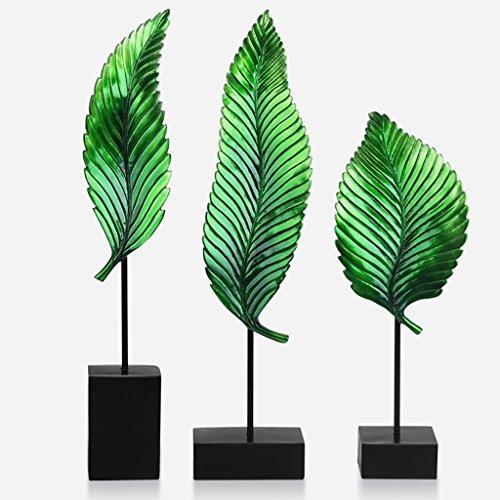 k, Möbel Dekoration Schlafzimmer Schreibtisch Dekoration, DREI-Blatt Vier-Farben-Persönlichkeit Handwerk 57 * 11cm / 14 * 56.7cm / 16.7 * 44.5cm (Color : Green) ()