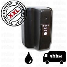 vhbw kompatible Ersatz Tintenpatrone Druckerpatrone schwarz für wie HP 02, 363, C8719EE.