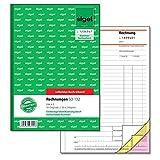 Sigel SD132 Rechnungen fortlaufend nummeriert, A5, 3x50 Blatt, selbstdurchschreibend