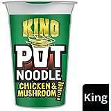 Rey Pot fideos de pollo y de la seta 114g