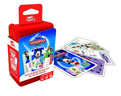Shuffle Monopoly Deal Disney Card Game by ToyMarket