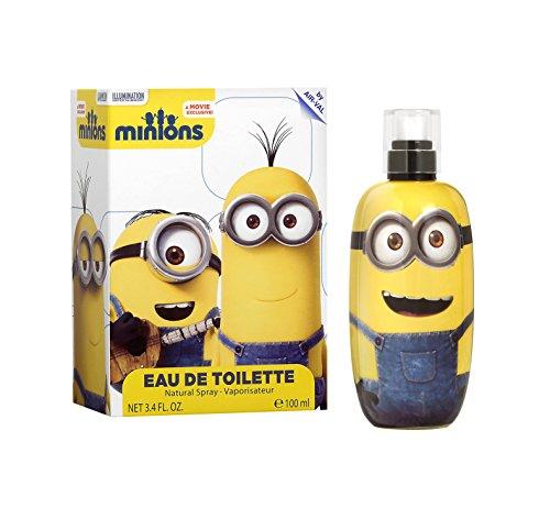 Minions 6271 Eau de Toilette, 100 ml, Giallo