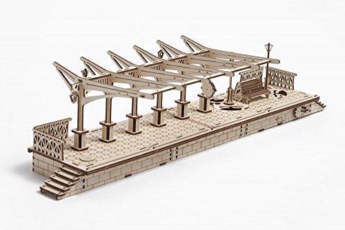 UGEARS - Plataforma de Tren (Plataforma)