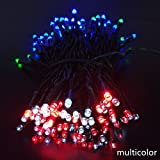 #5: Decorative Waterproof LED Powered Outdoor Fairy Light For Christmas Wedding Party Decoration 22m