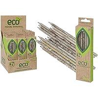 12matite di qualità premium Eco Recycled Newspaper piombo matita HB scuola grafite.