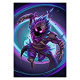 HappyGroots Fortnite Poster Raven skin - LARGE 23x32 inches (80x58 CM)