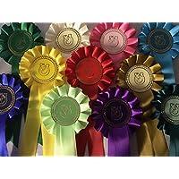 6 x Horse Shoe Rosettes
