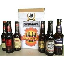 Cerveza Box - 6 Mejores Cervezas Españolas Ganadoras World Challenge Beer, Estrella Galicia 1906 Reserva