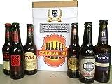 Cerveza Box - 6 Mejores Cervezas Españolas Ganadoras World Challenge Beer, Estrella Galicia...