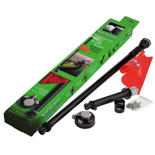 Railblaza Visibility - Pieza para kayaks y piraguas, color negro/negro