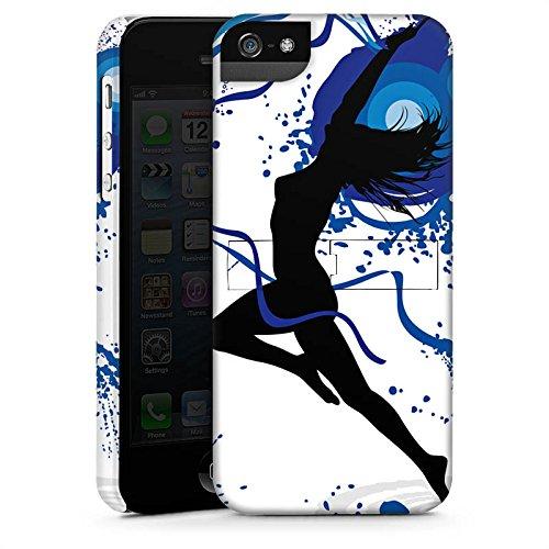 Apple iPhone X Silikon Hülle Case Schutzhülle Tanzen Dance Weiblich Premium Case StandUp