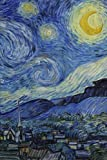 Starry Night, Blank Journal: Vincent van Gogh notebook / composition book, 140 pages, 6 x 9 inch (15.24 x 22.86 cm) Laminated