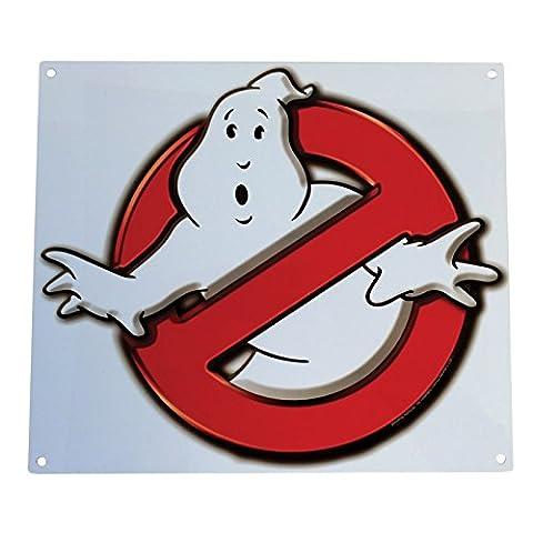 Factory Entertainment fe408952keine Geister Ghostbusters-Logo Metall Schild (Giants Geist)