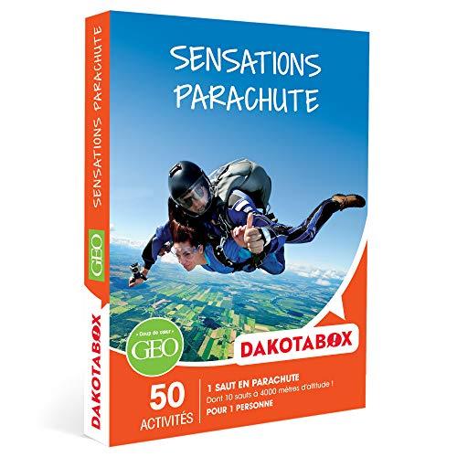 DAKOTABOX - Sensations parachute - Coffret Cadeau Sport & Aventure - 1 saut en...