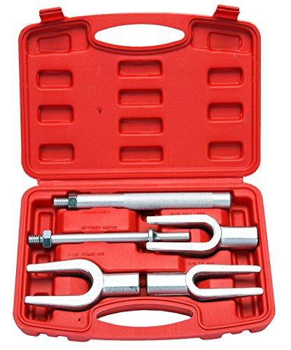FreeTec 5 tlg Trenngabel Kugelgelenk Set Spurstangen Kopf Abzieher Satz Werkzeug Kugelgelenk Ausdrücker Trenngabel Set
