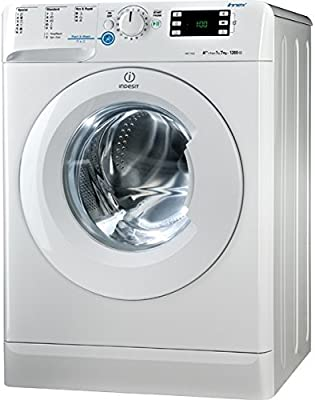 Indesit XWE 71252 W EU - Lavadora (Independiente, Color blanco, Frente, 7 kg, 1200 RPM, B)
