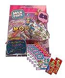 MOJIPOPS SERIES 1 STARTER SET ~ INCLUDES MOJI POP STARTER PACK (Glitter Story 5 FIGURE PACKS ~ PLUS 2 x GoGo TRADING CARDS