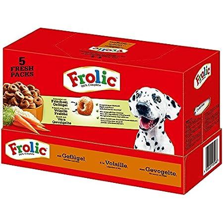 Frolic Hundefutter Trockenfutter mit Geflügel, Gemüse und Reis
