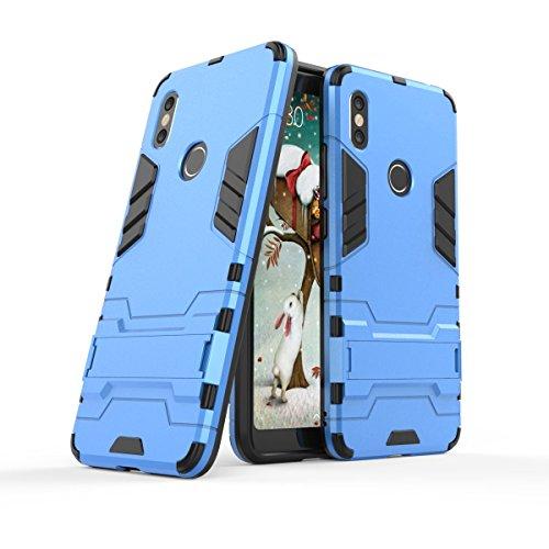 """Max Power Digital Funda para Xiaomi Redmi S2 (5.99"""") con Soporte - Carcasa híbrida antigolpes Resistente (Xiaomi Redmi S2, Azul)"""