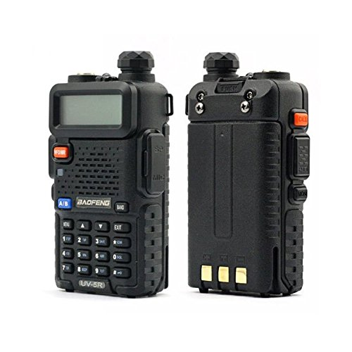 BaoFeng UV-5R 136-174/400-480 MHz Dual-Band DTMF CTCSS DCS FM Ham Two Way Radio (Radio Baofeng)