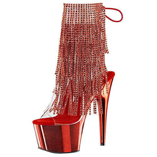 Heels-Perfect, Stivali donna Rosso (Rot)