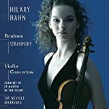 Plays Brahms/Stravinsky-Violin