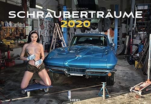 Schrauberträume 2020: Der erotische Kalender, nicht nur für Hobby-Schrauber und Automobil-Enthusiasten