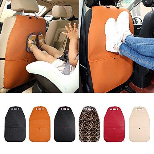 Autositz Rückenlehne Kinder Anti Schmutz Auto Halter Auto Sitz Rückenprotektor Transparente Abdeckung Abnehmbare Hängende Kissen Auto Sitzbezug Matte für Kinder Babys Hunde (Kinder Sitzbezüge Auto)