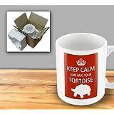 Pet Lover Designer Mug - Keep Calm And Hug Your Tortoise