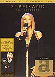 Barbra Streisand - The Concerts [3 DVDs]