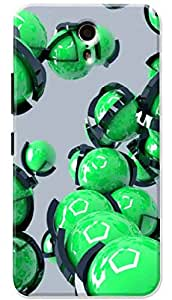 Lets Play Premium Printed Soft Silicon Cool Case Mobile Cover for Lenovo ZUK Z1