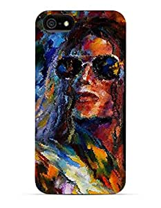 GetASkin Michael Jackson Painted back case for iPhone 5