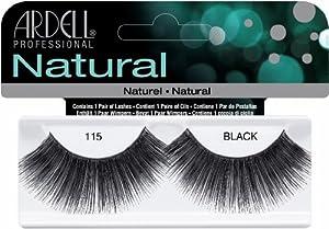 Ardell Fashion Lashes False Eyelashes - #115 Black (Pack of 2)