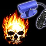#10: Leebo Ghost Rider Skull Logo LED Laser Light For Honda Dio (Free 1 Pair Parking Led )