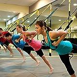 Schlingentrainer, Fivanus Suspension Trainer Aufhängung Heavy Training Duty Pro Fitnessgerät Schlingentraining, Crossfit Fitness Trainer - 6
