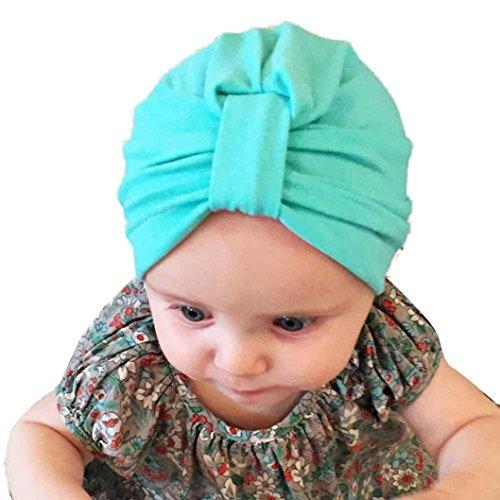 Culater® Neonata Neonato bello sveglio sveglia molle Cappello Boemia (verde)
