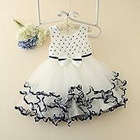 QTONGZHUANG Prinzessin Fluffy Dress_New Spitzenrock Princess Puff Dress