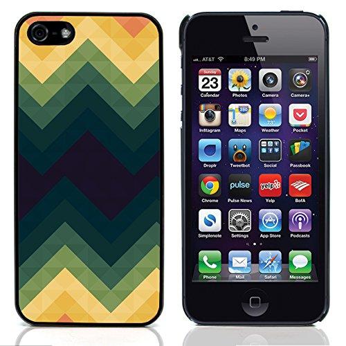 Graphic4You ORANGE CANVAS Muster Harte Hülle Case Tasche Schutzhülle für Apple iPhone 5 und 5S Design #12
