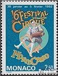 Gebiet: Monaco, Ausgabeanlass: 1991 Zirkusfestival, Titel: 1994 (kompl.Ausg.), Jahrgang: 1991,