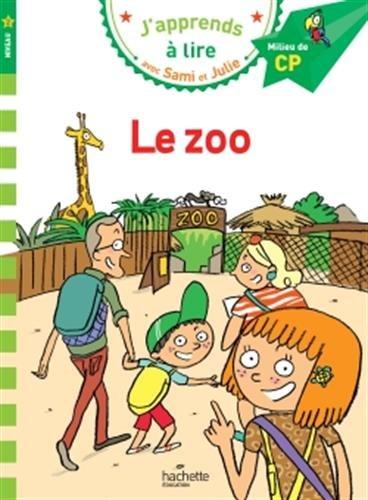 Sami et Julie CP Niveau 2 :  le zoo par Emmanuelle Massonaud