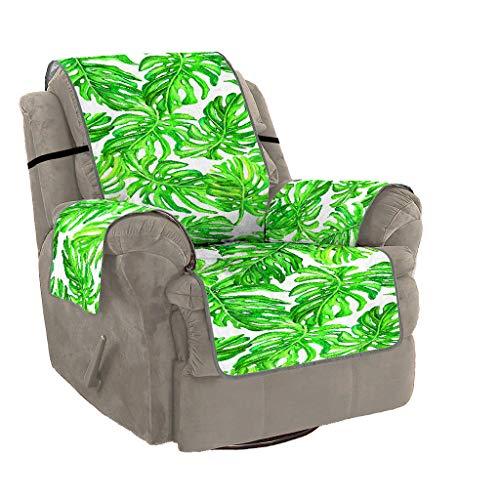 Epig Sofa Couch Cover ❤️️ Blatt Druck Rutschfeste Gesteppte Sofa Couch Abdeckung Stuhl Hund Kinder Mat Möbel Protector