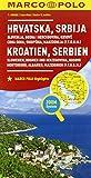 Slovenia, Croazia, Serbia, Bosnia Erzegovina 1:800.000