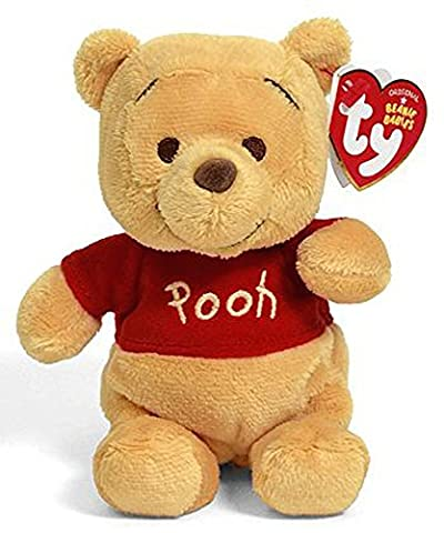 "Winnie the Pooh Beanie Buddie Official Ty Super Soft Plush 10"" Tall Toy Bear Gift"