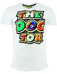 Valentino Rossi VR46 Moto GP The Doctor blanco Camiseta Oficial 2017